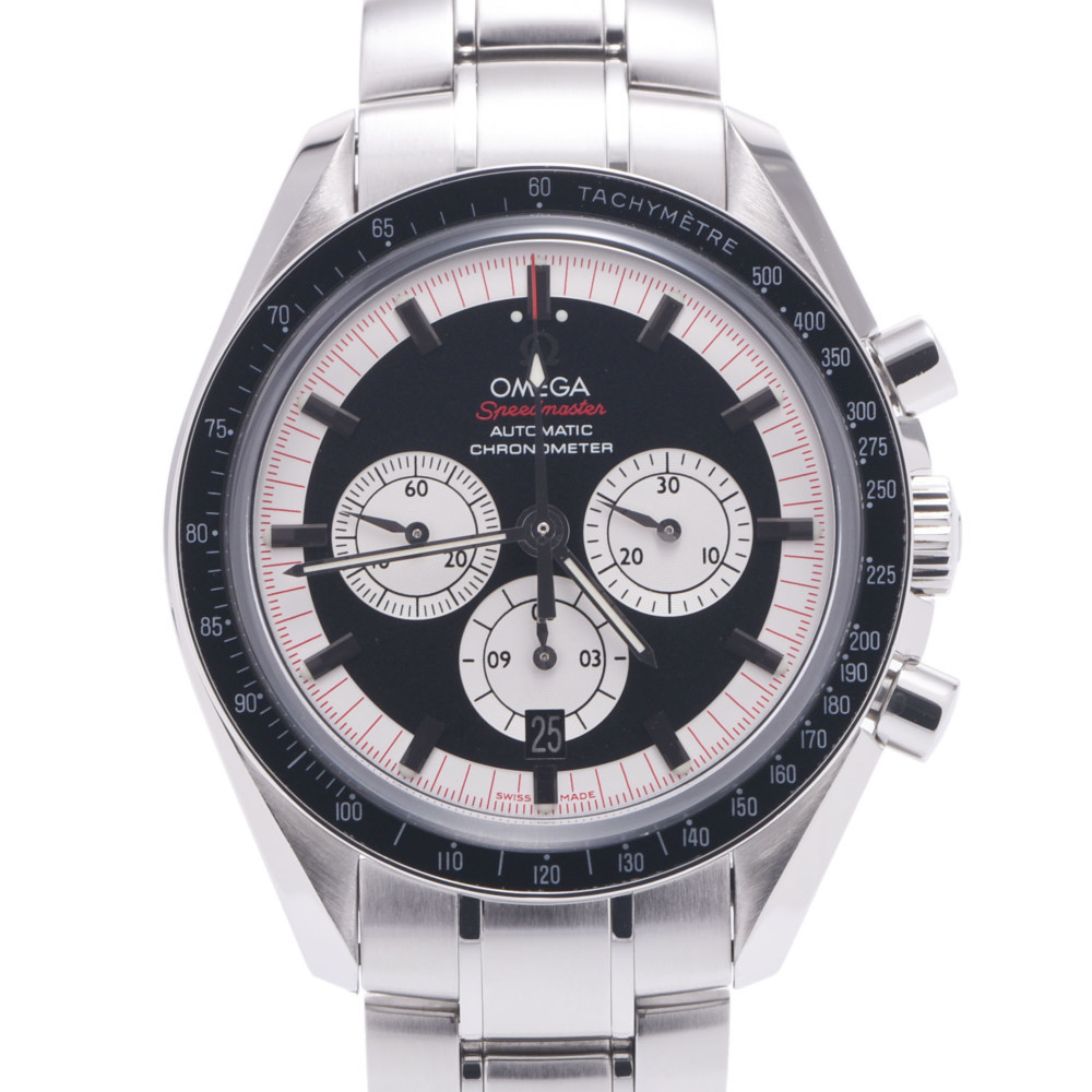 OMEGA Omega Speedmaster Schumacher Legend 3507.51 Men's Stainless Steel Wrist Watch Automatic Black Dial