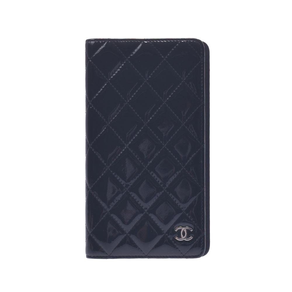 CHANEL Matrasse Coco Mark Black Unisex Enamel Notebook Cover