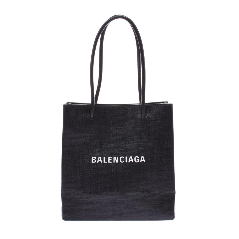 BALENCIAGA Balenciaga Shopping Tote XXS 2WAY Bag Black 597858 Ladies Calf Handbag