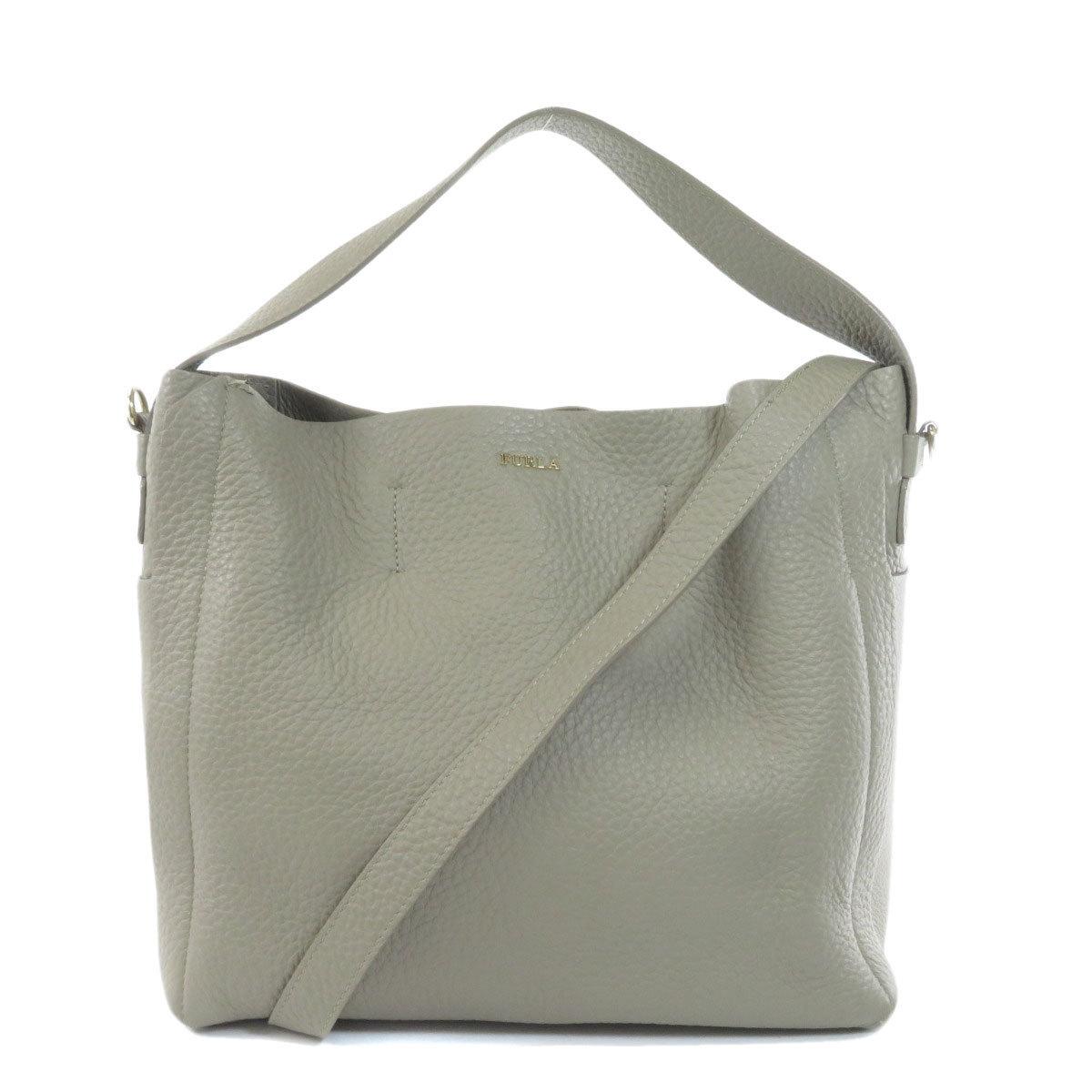 Furla 2WAY Shoulder Bag Leather Ladies
