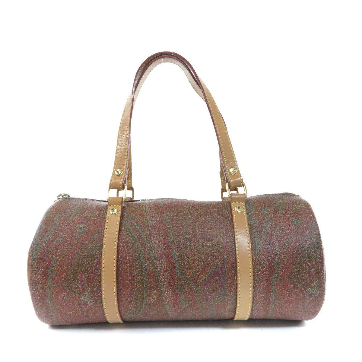 Etro Paisley Handbag PVC Ladies