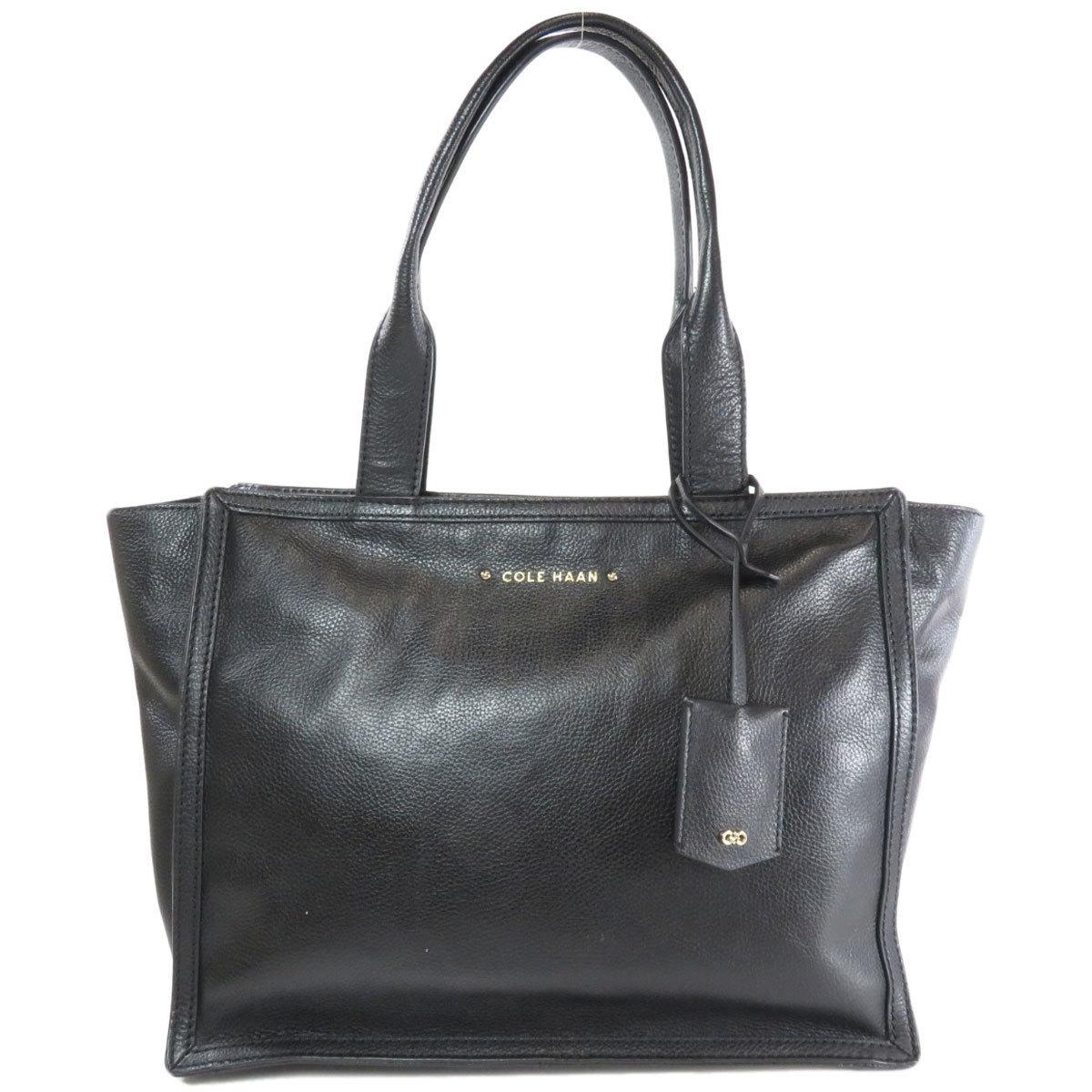 Cole Haan Logo Motif Tote Bag Leather Ladies