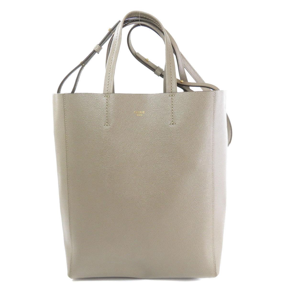 Celine Cabas Mall Handbag Calf Ladies