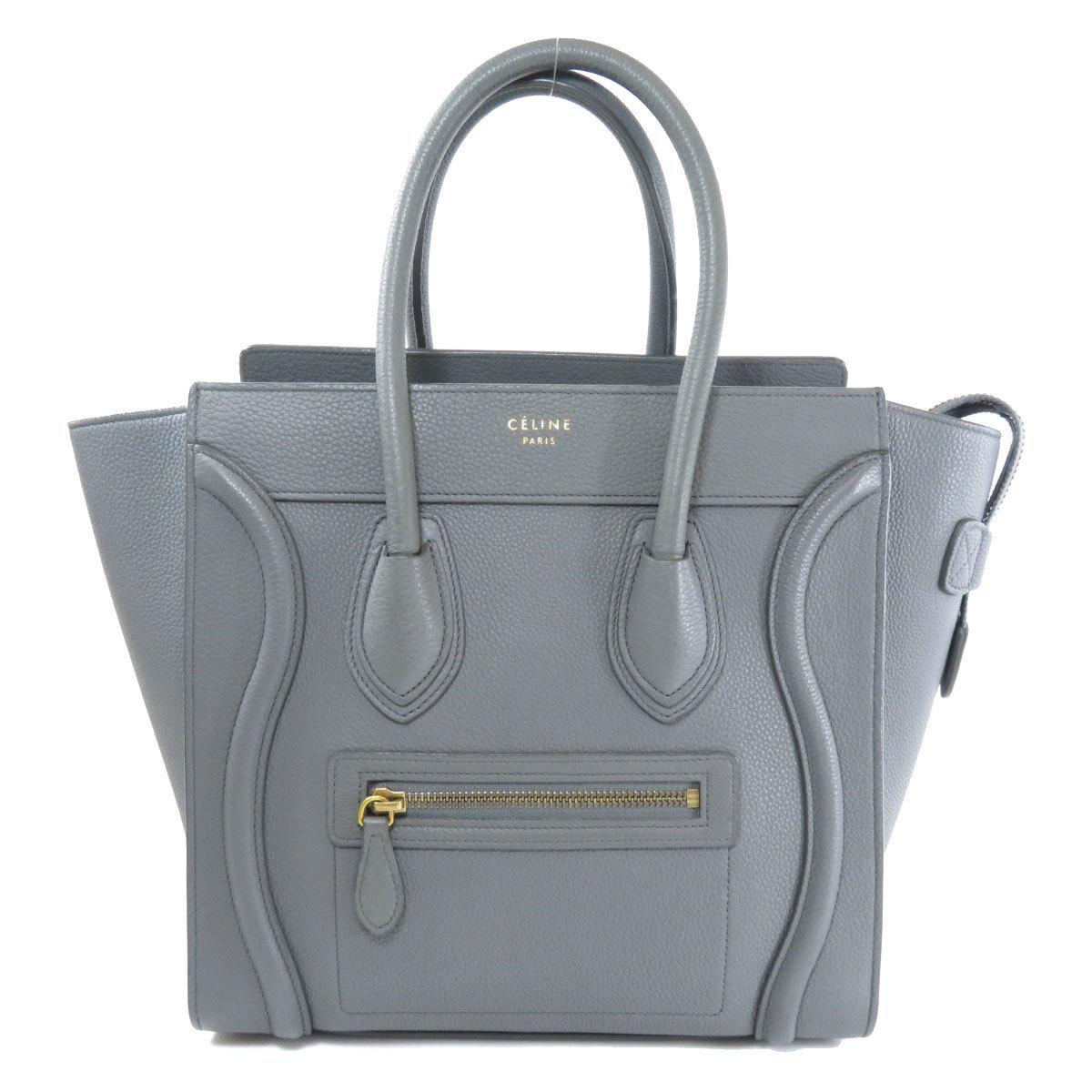 Celine Luggage Micro Handbag Calf Ladies