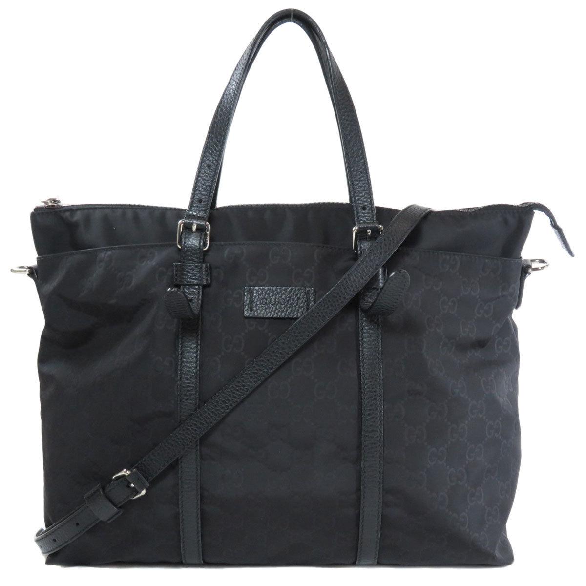 Gucci 387067 GG 2WAY Tote Bag Nylon Ladies