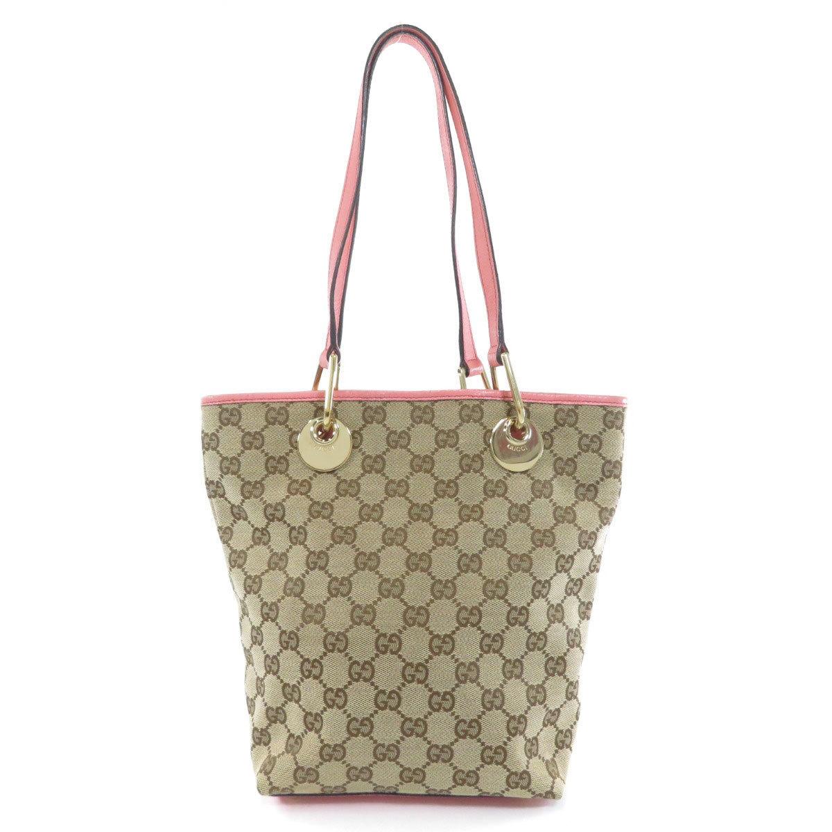 Gucci 120840 GG Tote Bag Canvas Ladies