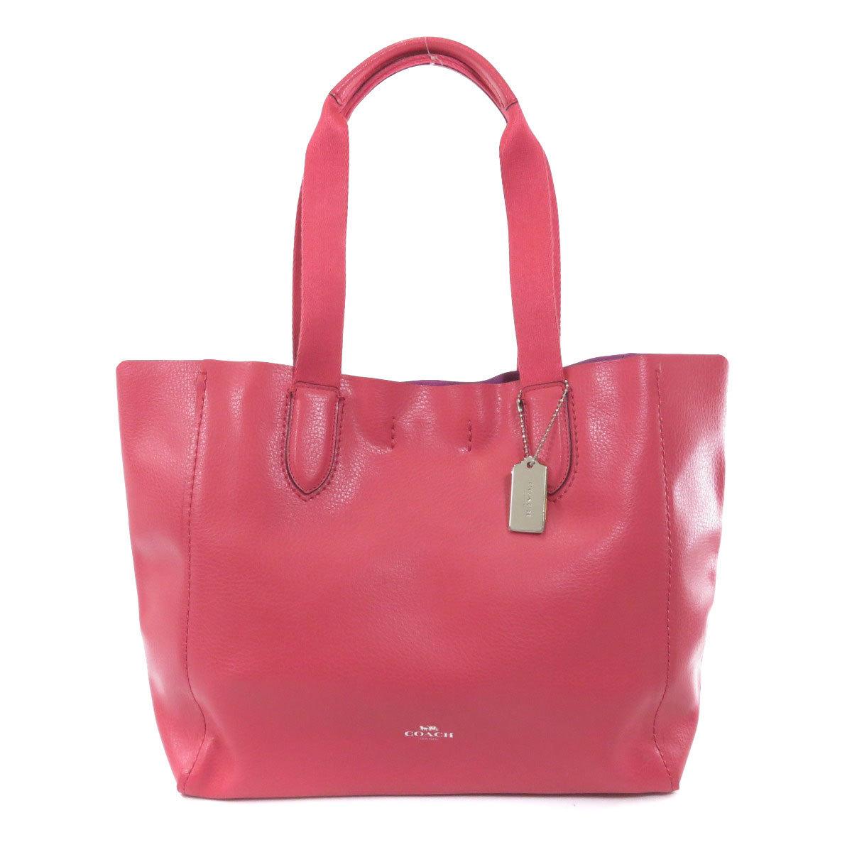 Coach F58660 Logo Mark Tote Bag Leather Ladies