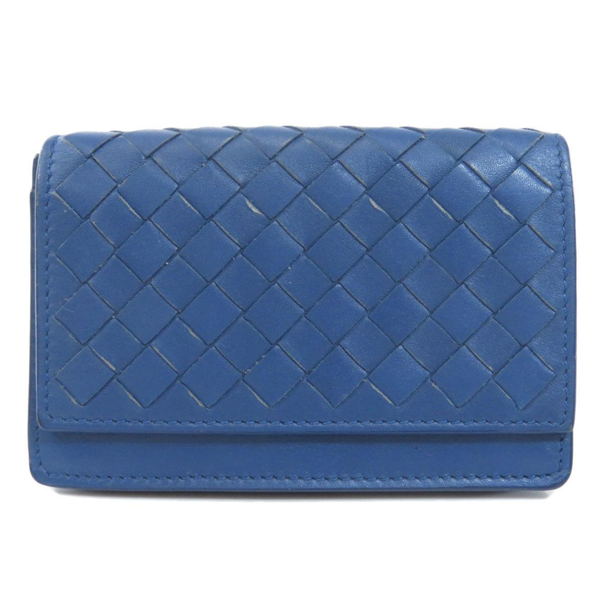 Bottega Veneta Intrecciato Card Case Leather Men's
