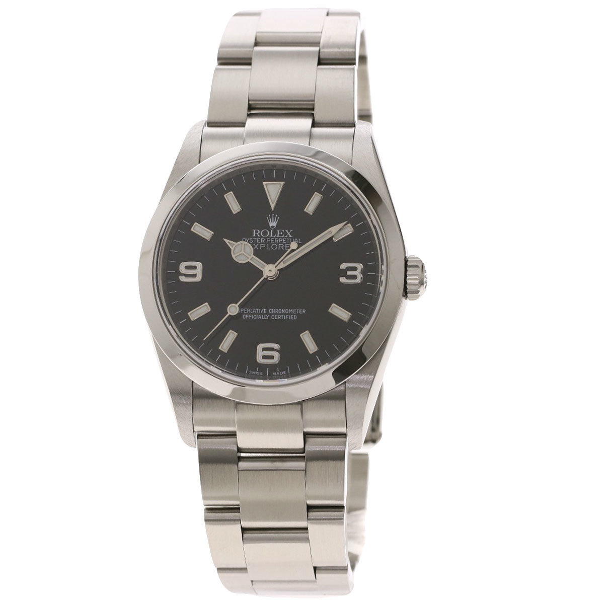 Rolex 114270 Explorer 1 Roulette Watch Stainless Steel Mens