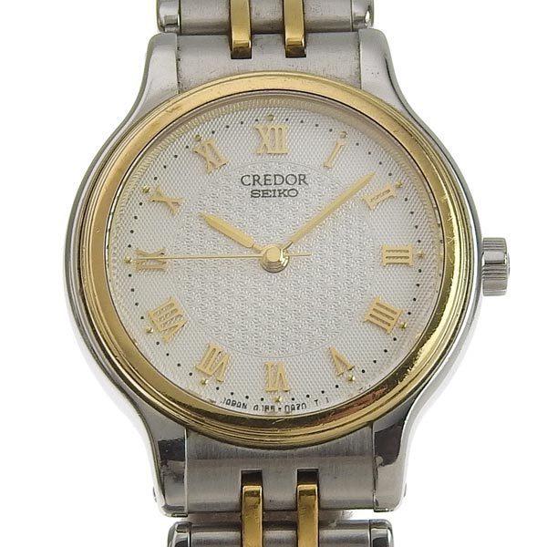 SEIKO Seiko Credor Ladies Quartz Wrist Watch 4J85-0A10