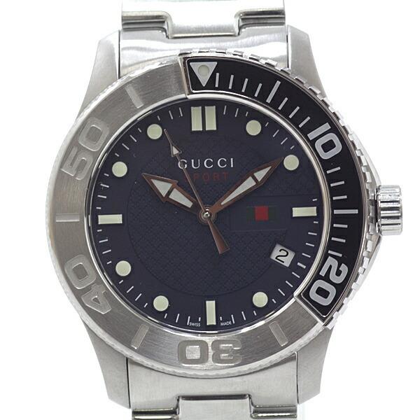 GUCCI Gucci Men's Watch G Timeless YA126253 Black (Black) Dial Quartz Finished