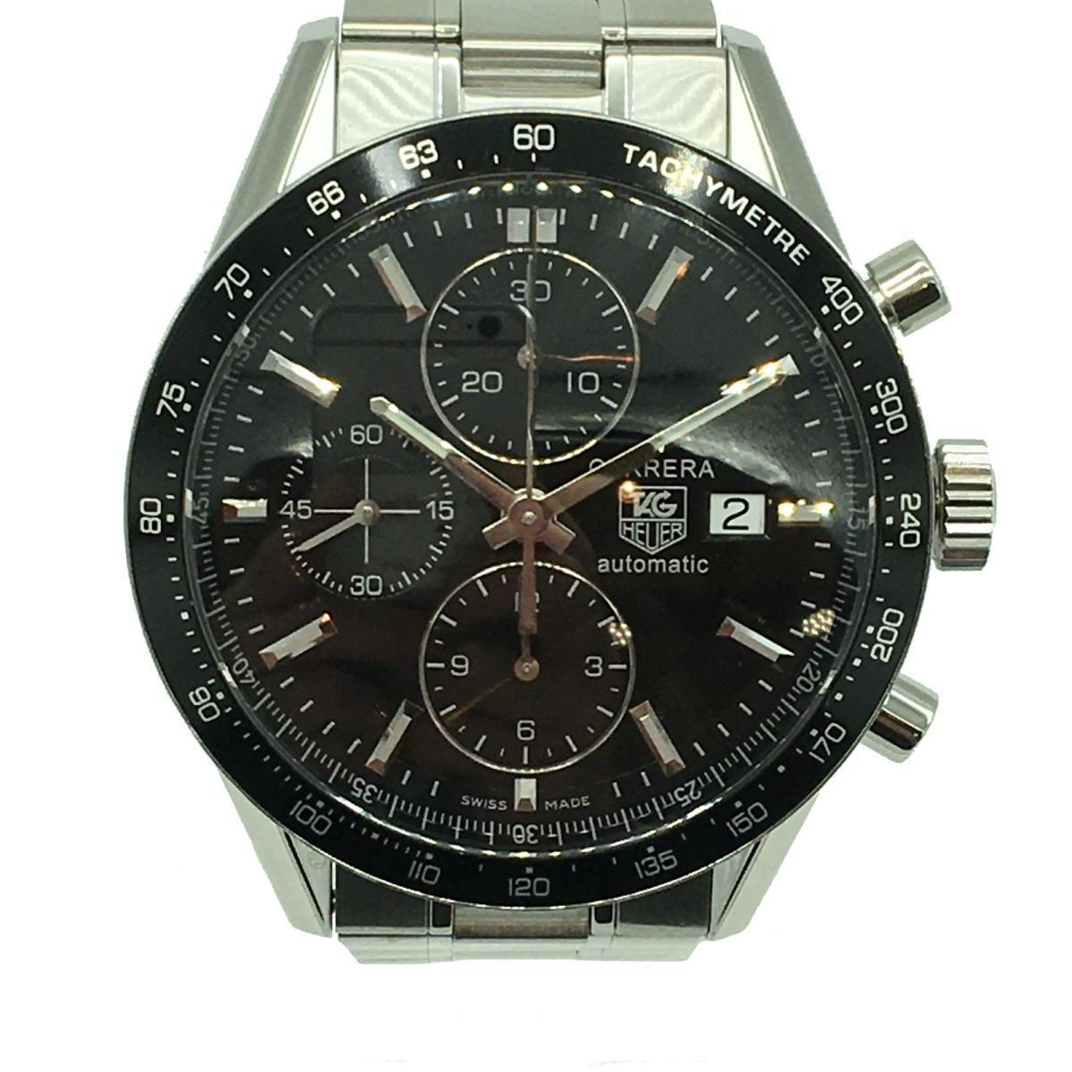 TAG HEUER Carrera Racing Special SS Men's Watch Automatic Stainless Steel (CV201E.BA0794)