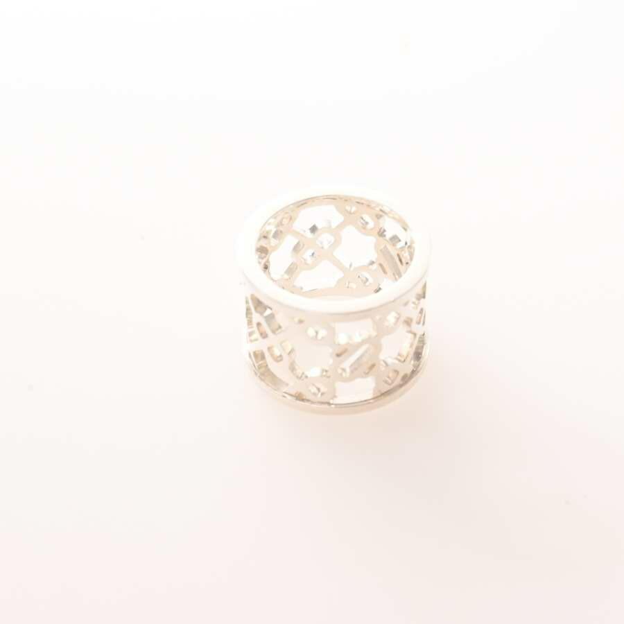 Hermes HERMES Ag925 Chene Dunkle Pasrel Ring Silver