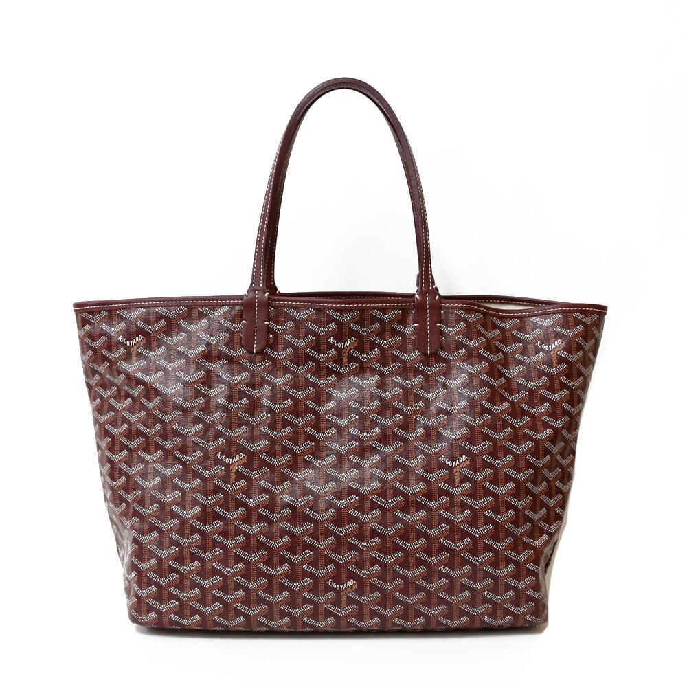 GOYARD Goyard Shoulder Bag Saint Louis PM Red Purple Ladies PVC Coated Canvas