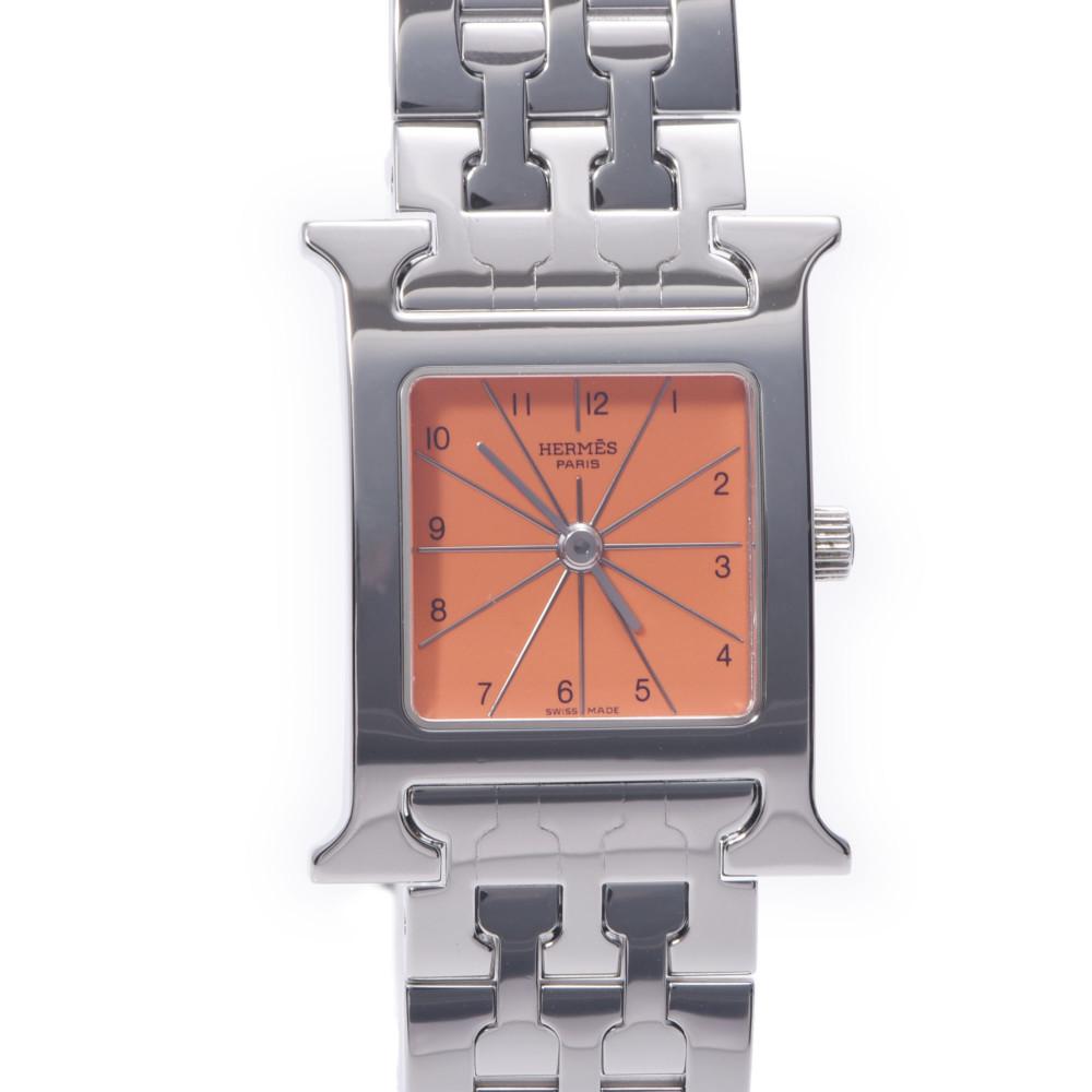 HERMES Hermes Ramsis HH1.210 Ladies Stainless Steel Wrist Watch Quartz Orange Dial