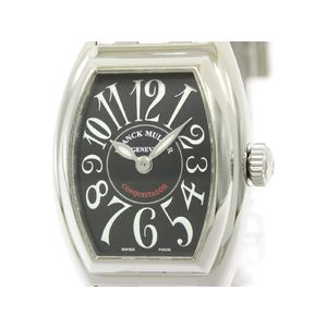 FRANCK MULLER フランクミュラー コンキスタドール ステンレススチール クォーツ レディース 時計