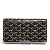 GOYARD Richelieu Bi-Fold Wallet APM20501 Coated Canvas Black