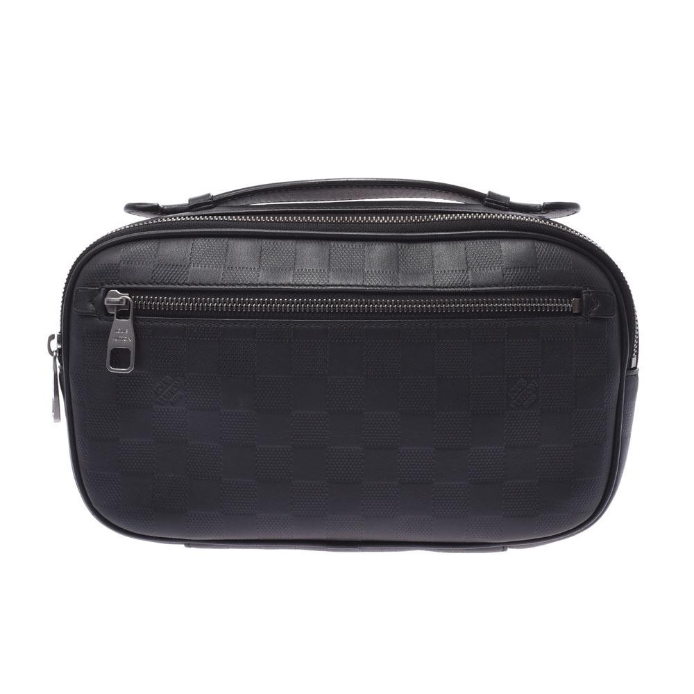 LOUIS VUITTON Louis Vuitton Damier Amphini Ambrail 3WAY Bag Onyx N41288 Men's Leather Body