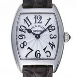 Franck Muller Tono Carbex Intermidier Ladies Watch 2252QZ AC Stainless Steel Silver Arabian Dial