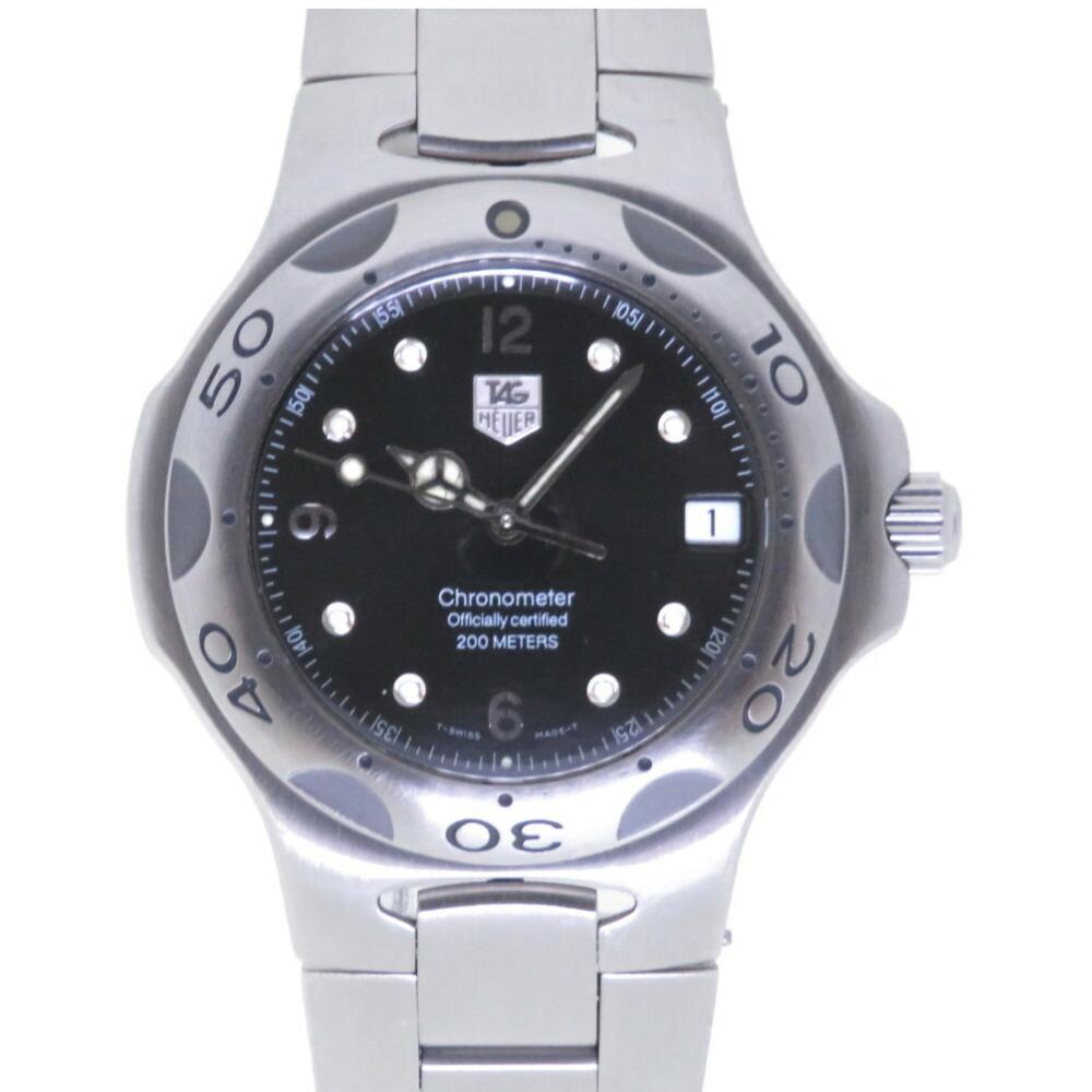 タグホイヤー キリウム WL5111 自動巻き 腕時計 SS ブラック 黒文字盤 0041TAG HEUER メンズ