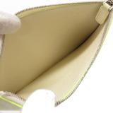 ブルガリ(Bvlgari) ブルガリ × フラグメント フォン & カードケース 藤原ヒロシ カードケース レザー ネオンイエロー 0055  BVLGARI × FRGMT