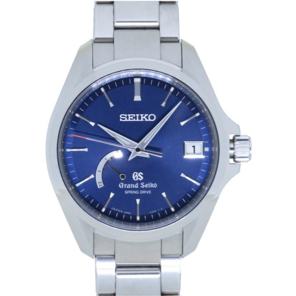 セイコー スプリングドライブ グランドセイコー スポーツコレクション SBGA075 / 9R65-0BD0 腕時計 SS ブルー 青文字盤 0002SEIKO メンズ