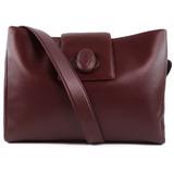 CARTIER Cartier Calf Bordeaux Ladies Shoulder Bag