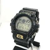 G-SHOCK ジーショック CASIO カシオ 腕時計 DW-6900CR-1 三つ目 ブラック ゴールド デジタル クォーツ  The Reptiles ザ・レプタイルズ メンズ