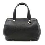 BVLGARI COLLEZIONE handbag leather black