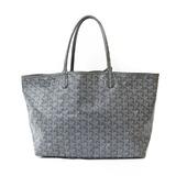 GOYARD shoulder bag gray ladies canvas leather