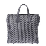 GOYARD Goyard Sac Voltaire 2WAY Gray Unisex Canvas Calf Tote Bag