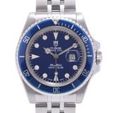 TUDOR Tudor Mini Sub Prince Date 73190 Boys Stainless Steel Wrist Watch Automatic Blue Dial