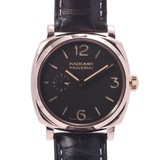 OFFICINE PANERAI Radiomir 1940 Ororosso PAM00513 Men's RG Leather Watch Manual winding Brown Dial