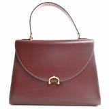 Cartier Must de Handbag Bordeaux Red
