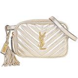 Saint Laurent Paris SAINT LAURENT Loubert bag Quilted leather Champagne gold Waist pouch 534817