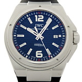 International Watch Company Ingenieur Automatic Mission Earth Men's IW323601 Stainless Steel Black Arabian Dial