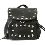 JIMMY CHOO rucksack daypack black ladies leather