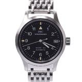 IWC SCHAFFHAUSEN Pilot's Watch Mark 12 IW442102 Ladies Stainless Steel Automatic Black Dial