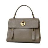 SAINT LAURENT shoulder bag muse to gray ladies leather