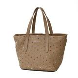 JIMMY CHOO Shoulder Bag Handbag Beige Ladies Leather