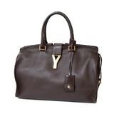SAINT LAURENT Handbag Kabassic Purple Women's Leather