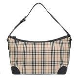 BURBERRY Burberry One Shoulder Bag Nova Check Ladies Canvas Beige Black