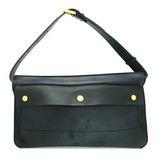 Burberry Handbags Women's Men's Shoulder Bags Leather Black
