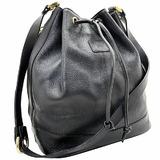 Burberry Shoulder Bag Leather Black BURBERRY One