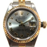 Rolex Datejust Watch 69173 Gray Stainless Steel (SS) x Yellow Gold
