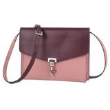 Burberry BURBERRY Shoulder Bag Macken MACKEN Ladies Pink Bordeaux