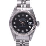 ROLEX Rolex Datejust 10P Diamond 69174G Ladies WG / SS Watch Automatic Dial