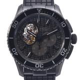 ZENITH Zenith El Primero Stratos Spin Drift 75.2060.4061 / 21.R573 Men's SS (DLC processing) Rubber watch Automatic dial