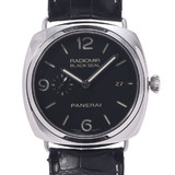 OFFICINE PANERAI Radiomir Black Seal 3 Days PAM00388 Men's SS / Leather Watch Automatic Dial