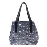 JIMMY CHOO Sophia Tote Bag S Star Studs / Unisex Coated Canvas